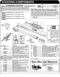 steering componenets online parts reference classic mini cooper steering pg 120