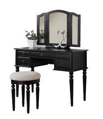 Metal Bedroom Vanity Beautiful Small Black Vanity Table For Yellow Bedroom With Corner