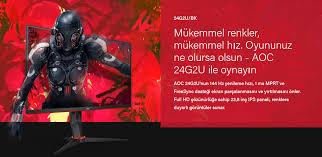 Aoc 24g2u 24 ips 144hz monitor. Aoc 23 8 24g2u 1ms 144hz Hdmi Displayport Freesync Gaming Monitor Fiyati