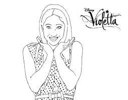 Francesca Personaggio Di Violetta Da Stampare E Da Disegno