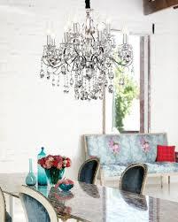 madeleine crystal chandelier in crystal chrome