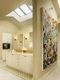 kitchen with hip ridge ceiling skylight  different types of