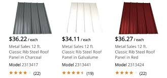 standing seam metal roof home depot roofing material cost home depot metal roof s in rack