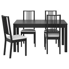 Delighful Ikea Kitchen Sets Furniture Tables And Chairs Bjursta Brje Table 4 Throughout Decor