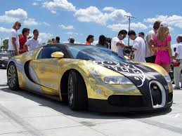 Backgrounds Bugatti Veyron Gold And Blue On Golden Car Wallpaper ...