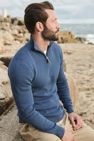<b>Mens 100 Cotton Knitwear</b> | Next Official Site