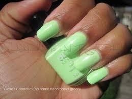 claire s cosmetics nail polish no name