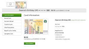 starbucks gift card balance checker photo 1
