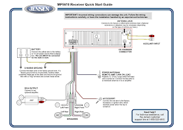 jensen car audio wiring diagram jensen wiring diagrams