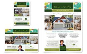 real estate ad real estate flyer ad template design