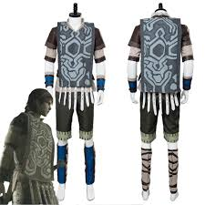 Shadow Of The Colossus Wander Cosplay Costume Outfit Uniform Suit Cloak Scarf Adult Halloween Carnival Costumes