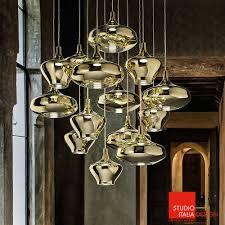 studio italia design lighting. Home \u003e Lighting Pendant Light Nostalgia 14-light Suspension With Round Canopy | Studio Italia Design