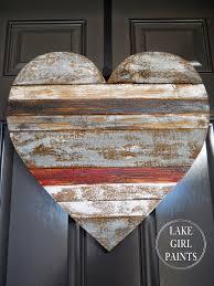Pallet Art Lake Girl Paints Pallet Art