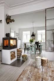 Industriële Inrichting Scandinavisch Naturel Wit Grijs Zwart