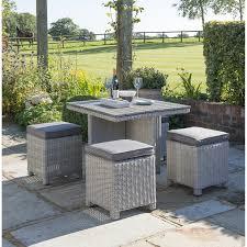 whitewash outdoor furniture. Kettler Palma Rattan Garden Furniture Set Whitewash Outdoor I