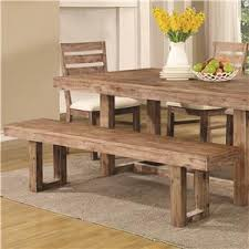 coaster elmwood bench