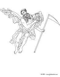 Voici Un Coloriage Historique Sur La Mythologie Grec Avec Chronos
