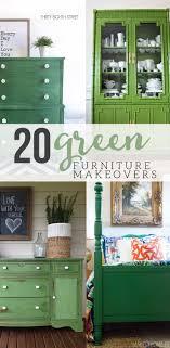 green painted furniture. Green Painted Furniture Makeovers \u2013 Craftivity Designs