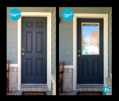 adding decorative door glass prairie bevel door glass transformation