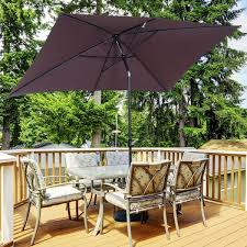 outsunny patio umbrella parasol