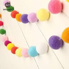 How To Make Fluffy Decoration Balls Online Shop Let's Make 100pcs 100cm Plush Ball multicolor Balls 70