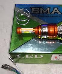 BMA LED Cao cấp - Bóng đèn Led xe máy chân M5 - 12v sử dụng chung điện máy  AC và điện bình DC