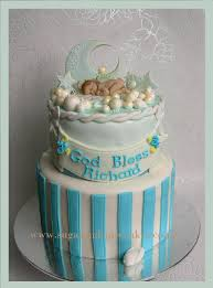 Baby Christening Cake Designs Baby Blue Christening Cake Designer Cakes Cupcakes