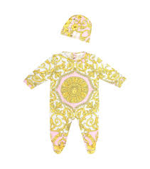 Young Versace Size Chart Young Versace Onesie And Hat Set Mytheresa Babies