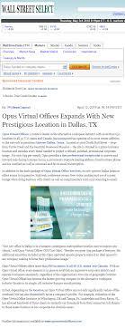virtual office reno. Opus Virtual Offices Expands With New Prestigious Location In Dallas, TX Office Reno