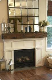 barnwood fireplace mantel reclaimed wood