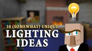 unique lighting ideas. 10 UNIQUE LIGHTING IDEAS: Improve The Look Of YOUR Minecraft Builds! - YouTube Unique Lighting Ideas