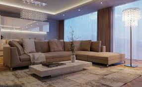 Contemporary Luxury Living Room in Elegant Style HouseBeauty