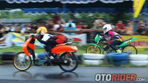 drag bike 201 meter championship 2016 digelar di indramayu