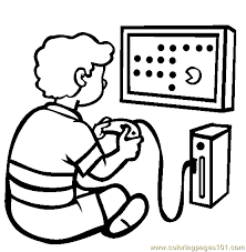 Small Picture The Video Game Console Coloring Page Free Games Coloring Pages