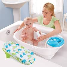 summer infant newborn to toddler baby bathtub with removable shower
