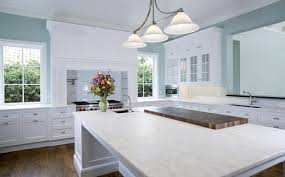 arabeo carrara marble countertops traditional kitchen orange county
