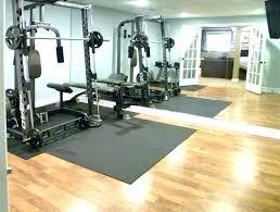 basement gym ideas. Flooring Furniture In Home Gym Ideas Unfinished Basement Gyms Ary  Expansive Garage Design Basement Gym Ideas C