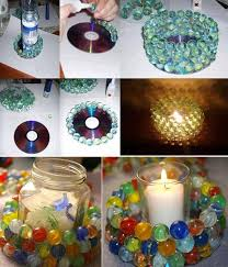 Home Decor Craft Ideas Unbelievable 24 Cute DIY With Colored Glass And Sea  15
