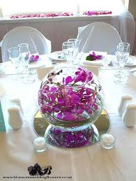 great glass bowl wedding centerpieces 1000 ideas about fish bowl centerpieces on bowl