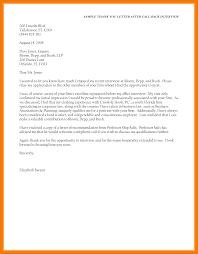 10 Thank Letter After Interview Mbta Online
