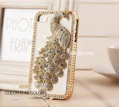 iphone 5s gold case for girls. crystal girl iphone 4 cover, luxury leather iphone 5 case, 3d bling peocock 4s cover 5s gold case for girls