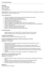 Sample Resume: Tax Lawyer Resume Sle Attorney.