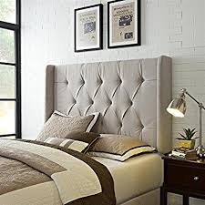 panel headboard king. Plain Panel Pulaski Mirabella Tufted Panel Headboard With Wings King And K