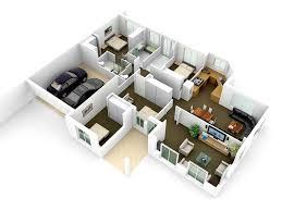 floor plan 3d. 3D Floor Plan Render 3d E