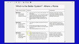 outline prep athens v rome dbq  outline prep athens v rome dbq