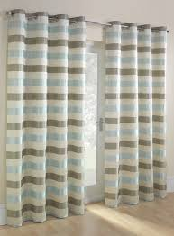 Striped Bedroom Curtains Duck Egg Striped Jacquard Eyelet Curtain Bhs Spare Bedroom