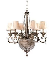 candelabra ceiling light 8 inch weathered patina chandelier modern