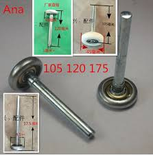 garage door roller wheel heavy duty garage gate sealed bearing idler quiet door 45 6mm diamete steel roller in door rollers from home improvement on