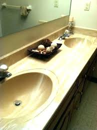 laminate countertop bathroom how