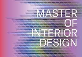 master of interior design mid poster